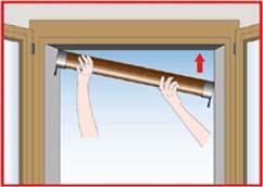 Speedykit la zanzariera con montaggio autobloccante - Smontare maniglia finestra senza viti ...