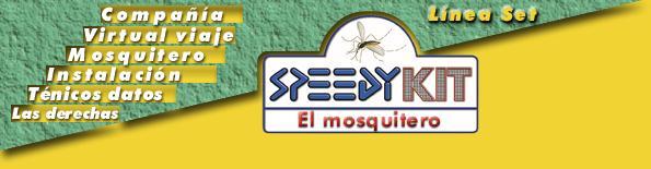 El mosquitero speedykit for Mosquitero magnetico